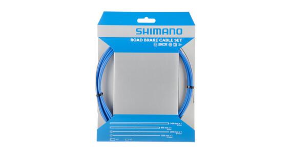 Shimano Road - Câble de frein - couvert de PTFE bleu